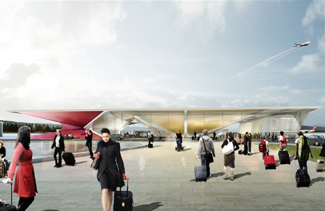 Kutaisi Airport by UNStudio