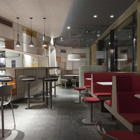Mcdonalds Interior Design mcdonald'spatrick norguet | dezeen
