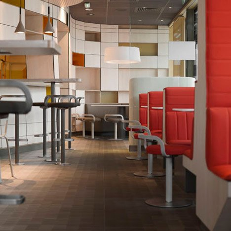 Mcdonalds Interior Design design for mcdonalds packaging and restaurants | dezeen