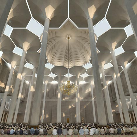Mosquée d'Algérie by KSP Jürgen Engel Architekten