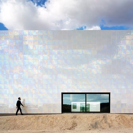 Music Hall and House in Algueña by Cor & Asociados