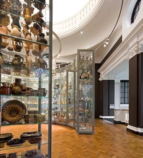V&A Ceramics Study Galleries by OPERA Amsterdam