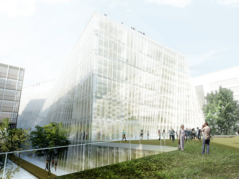 Research Centre for Université Pierre et Marie Curie by BIG and OFF