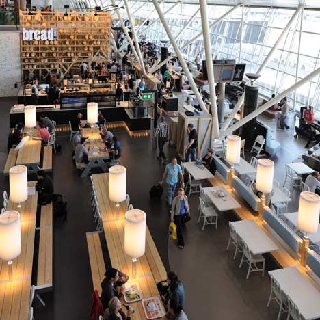 Schiphol Departure Lounge 3 by Tjep