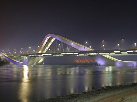 Sheikh Zayed Bridge by Zaha Hadid Architects