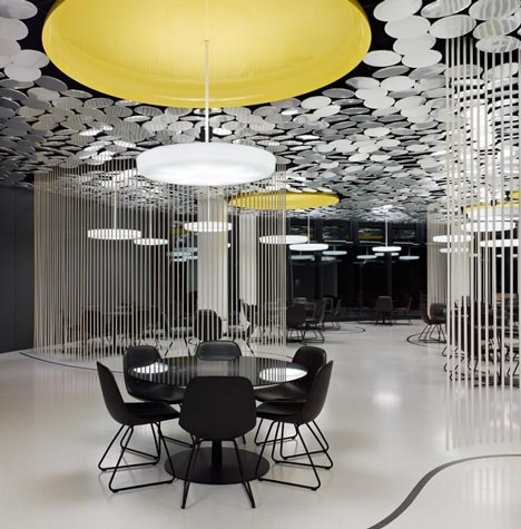 Spiegel Kantine by Ippolito Fleitz Group Identity Architects