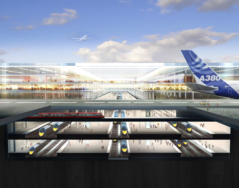 Thames Hub by Foster + Partners
