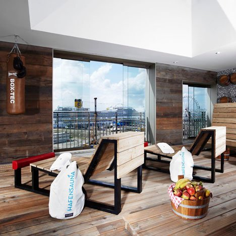 The 25hours hotel hafencity by stephen williams associates for Hotels 25 hours