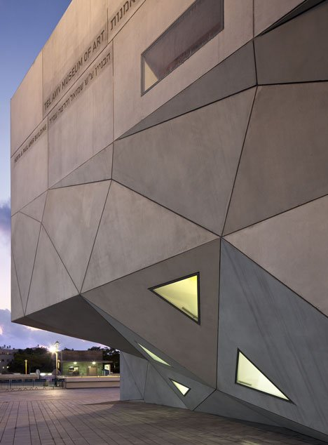 Herta and Paul Amir Building of the Tel Aviv Museum of Art by Preston Scott Cohen