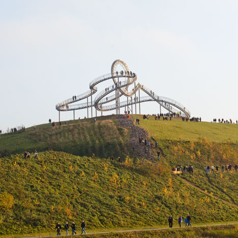 Tiger and Turtle Magic Mountain by Heike Mutter and Ulrich Genth