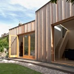 Timber Fin House by Neil Dusheiko