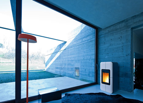 Toba eco-stove by MCZ