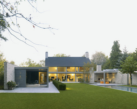 Villa Rotonda by Bedaux de Brouwer Architects