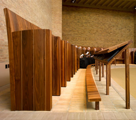 Worth Abbey by Heatherwick Studio