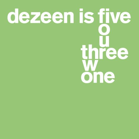 Dezeen is five: memorable (and slightly mad) projects