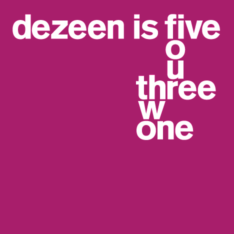 Dezeen is five: most memorable parties