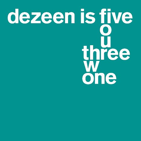 Dezeen is five: most memorable festivals