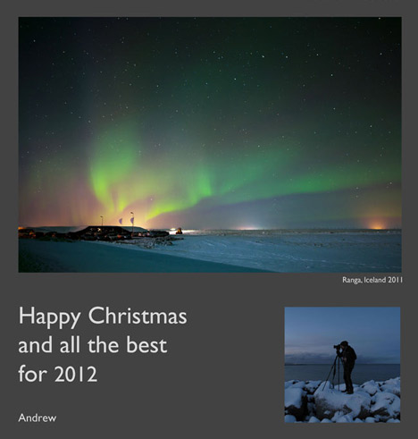 Christmas cards from our readers