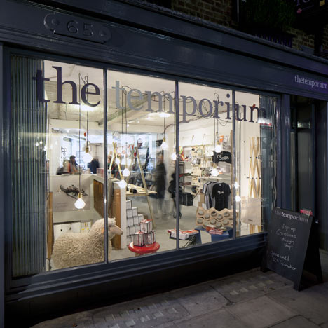 Dezeen Pop-Up Design Store:The Temporium