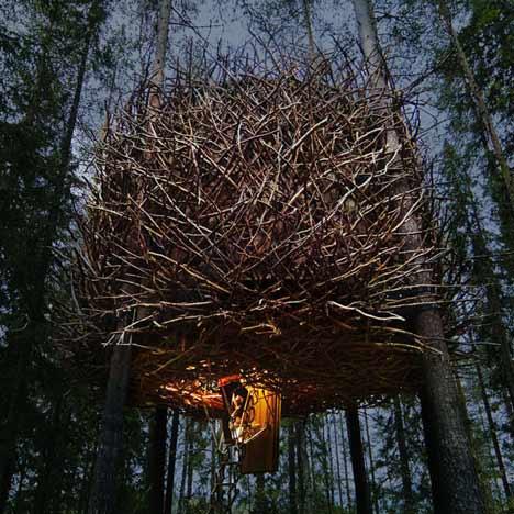 The Bird's Nest by Inrednin Gsgruppen