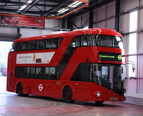 The new Routemaster bus by. Photo by Iwan Baan