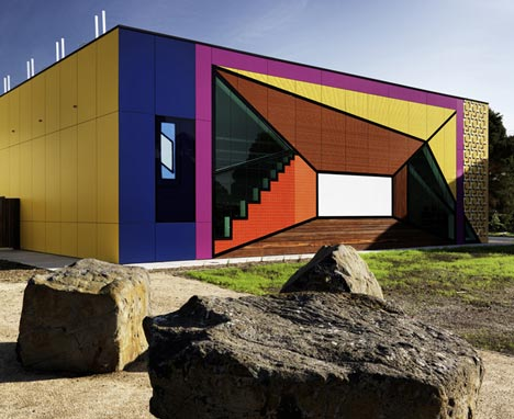 Avondale Heights Library & Learning Centre by H2o Architects