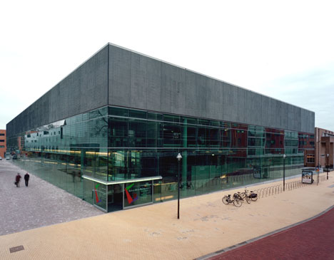Coda Shelter for Culture (museum) Apeldoorn (2004-11)