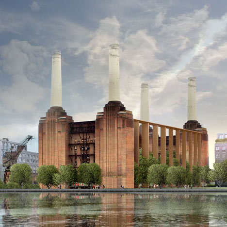 Farrells release alternative proposals for Battersea Power Station