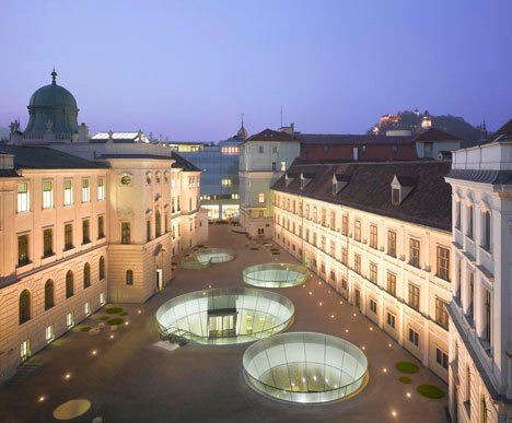 Joanneum Museum extension by Nieto Sobejano Arquitectos and eep architekten