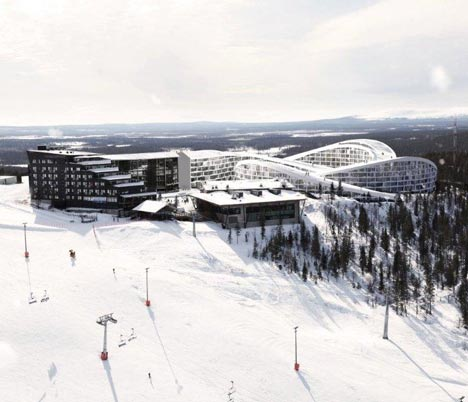 Koutalaki Ski Village by BIG