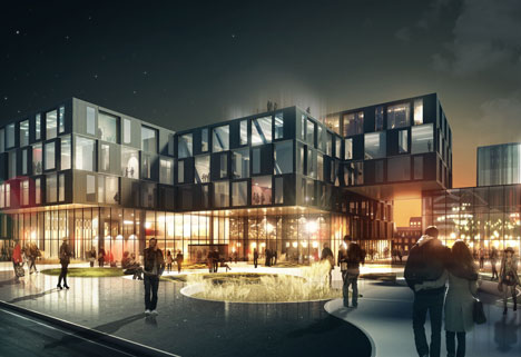Kulturhage by Henning Larsen Architects