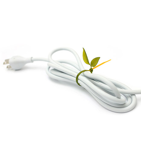 Leaf Tie Cable Organisers by Lufdesign