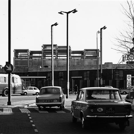 Lin Mij (textile workshop) Amsterdam (1962-64 – demolished)