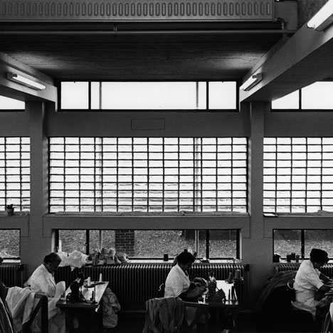 Lin Mij (textile workshop) Amsterdam (1962-64 – demolished)