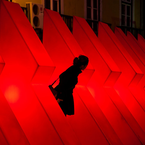 Lisbon Christmas Lights by Pedro Sottomayor, José Adrião and ADOC