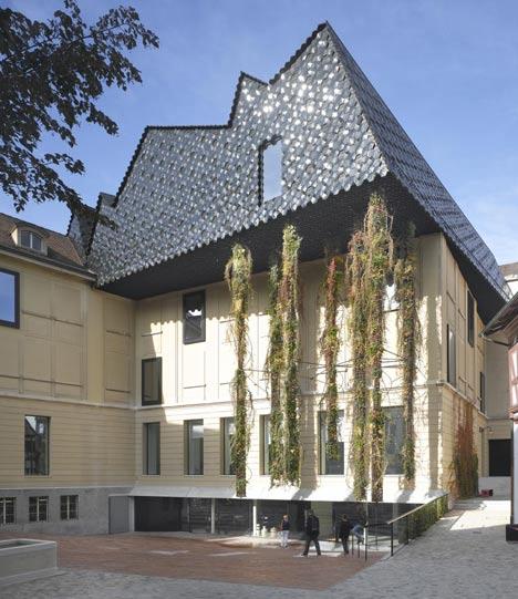 Museum der Kulturen by Herzog & de Meuron