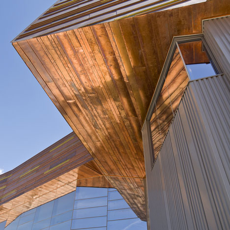 Natural History Museum of Utah by Ennead Architects and GSBS Architects
