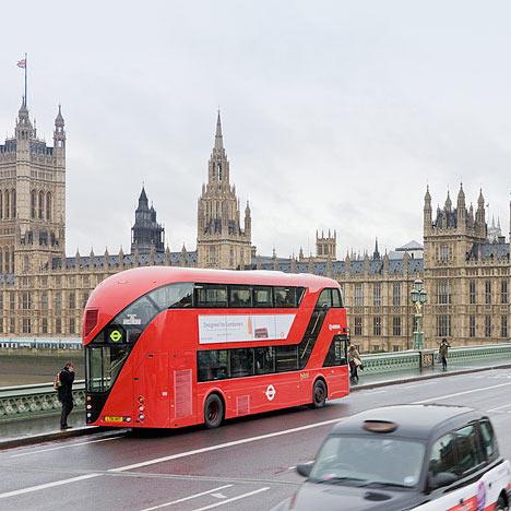 New Bus for London by Heatherwick Studio