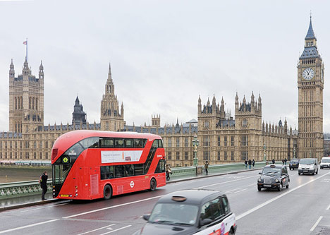 New Bus for London by Heatherwick Studio