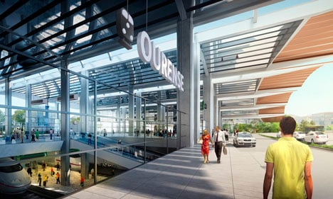Ourense AVE Station by Foster and Partners