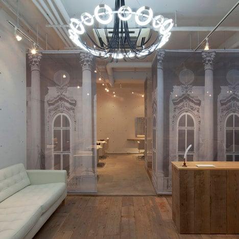 Salon by Tetsuya Ito of Takara Space Design