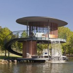 Shore Vista Boat Dock by Bercy Chen Studio
