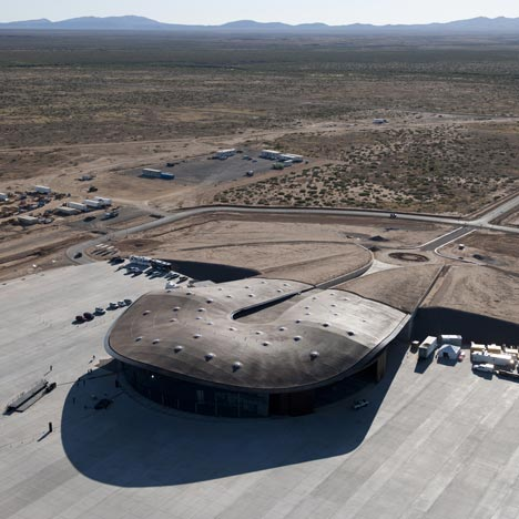 Spaceport America by Foster and Partners
