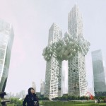 """Exploding"" twin towers by MVRDV cause outrage"