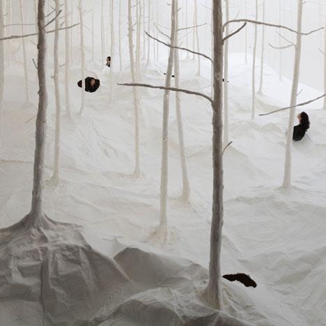 Wald aus Wald by Takashi Kuribayashi