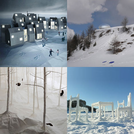 Dezeen archive: snow