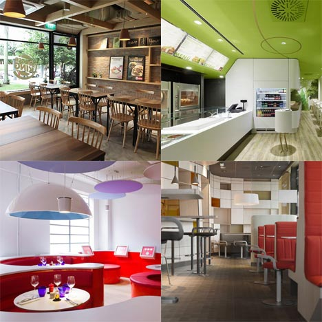 Dezeen archive: fast food restaurants