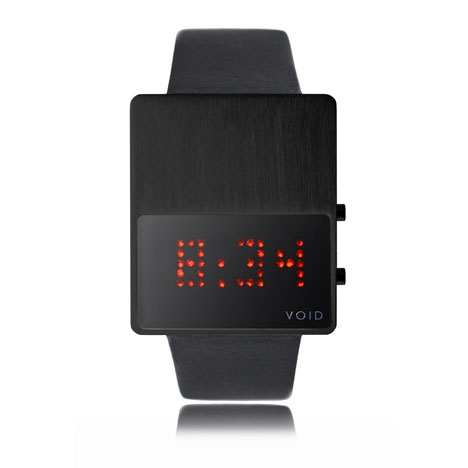 V01 LED now available at Dezeen Watch Store