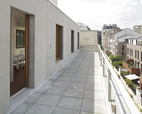 8 dwellings, 4 artist studios and 1 retail area by Charles-Henri