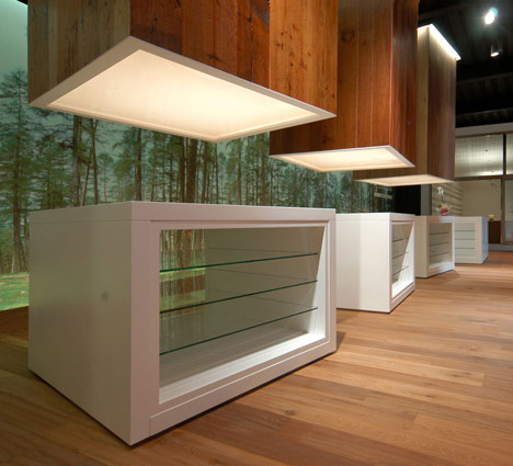Artwood Showroom by LDA.iMdA Architects